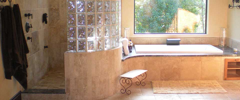 Redding, CA Custom Tile Bathrooms by EC Tile