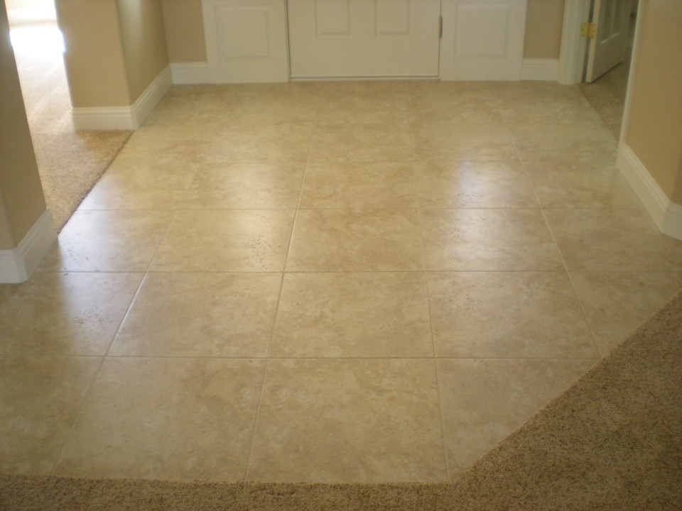 Multiple Room Tile Removal And Replacement In Redding