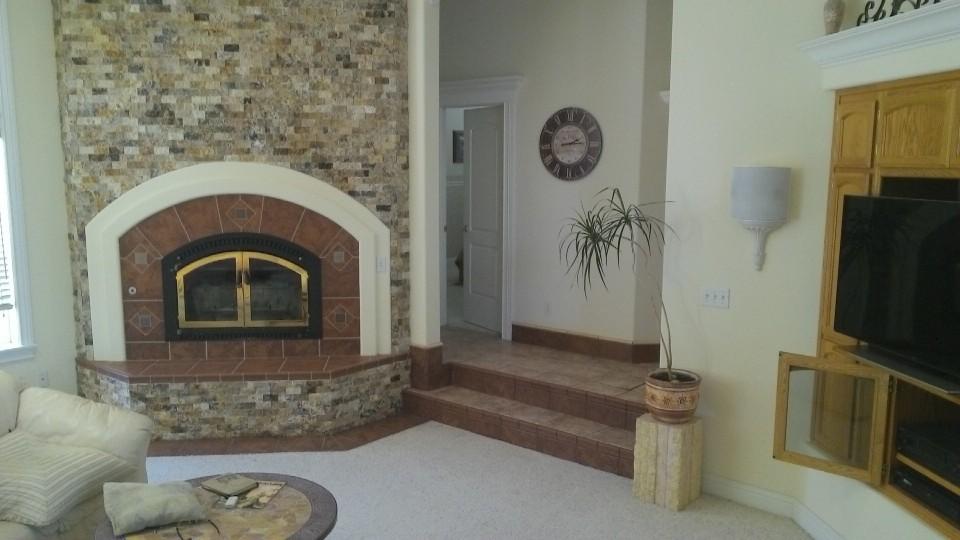 Custom Tile Accents Terra Cotta Granite Tile Redding California